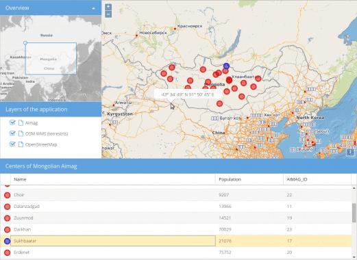 GeoExt Screenshot